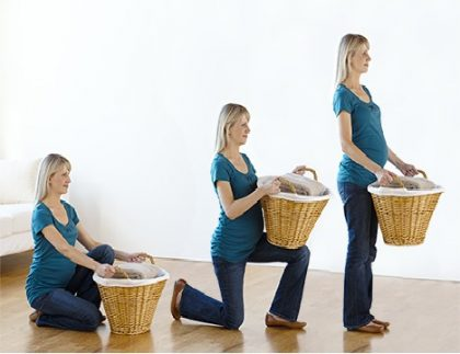 کردن اجسام سنگین در زمان بارداری 420x323 - بلند کردن اجسام سنگین در زمان بارداری:چند توصیه مهم