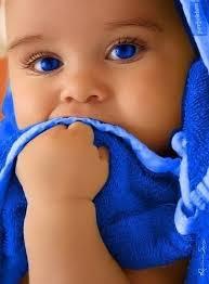 رنگ چشم کودکان