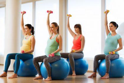 در بارداری 420x280 - فواید ورزش ورزش در دوران بارداری