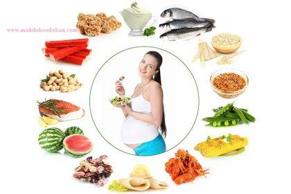 مواد مغذی (پروتئین، چربی ها، مایعات، نمک و ...) در دوران بارداری: