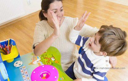 تشویق کودکان