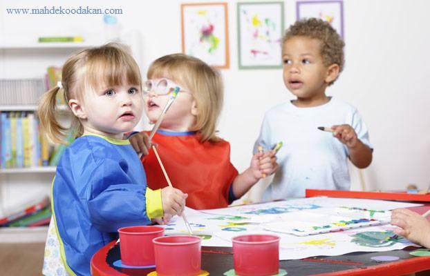 برنامه درسی کودکان نوباوه و نوپا و تفاوت آن با برنامه درسی پیش دبستان