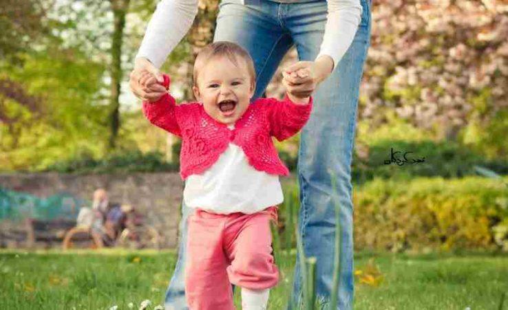 شناخت و افزایش رشد جسمی کودکان نه تا دوازده ماهه با چند فعالیت ساده