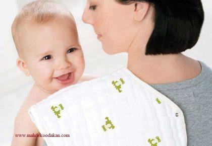 آروغ زدن نوزاد تا استفراغ نوزاد هنگام شیرخوردن