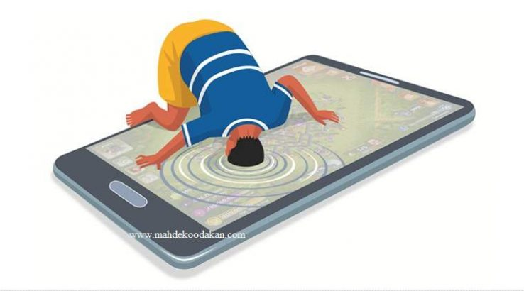 درمان اعتیاد کودکان به گوشی و دیگر ابزارهای دیجیتال در8 گام