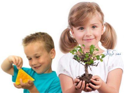 آموزش علوم در پیش دبستان شامل سه بخش اصلی است