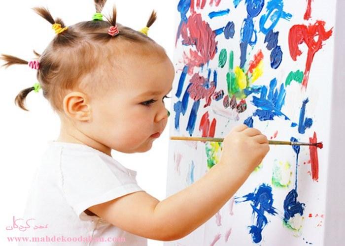 هنر در پیش دبستان و مهد کودک