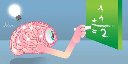 مراحل رشد تفکر ریاضی در کودکان و نقش مناطق مختف مغز در یادگیری ریاضی